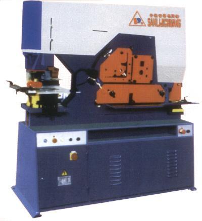 液压方钢联合冲剪机