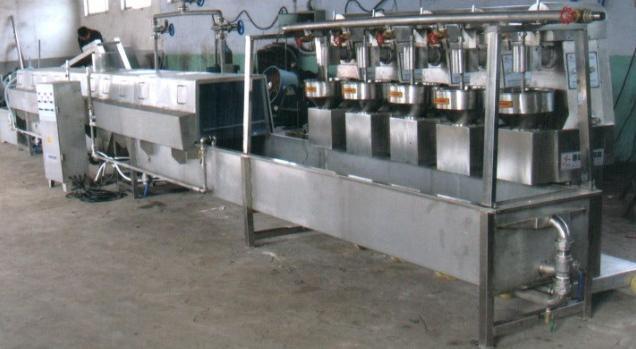 肉丸成型生产线