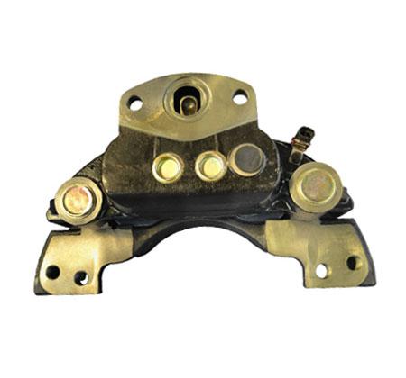轴向气室双推杆气压制动器
