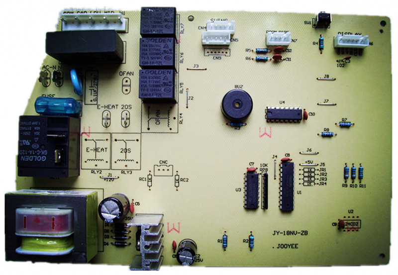 广州卓易电子科技有限公司-销售-空调控制器单冷主板