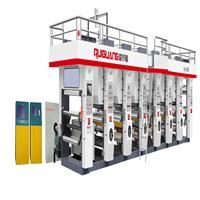 塑料彩色印刷机 RGASY-C型电脑印刷机