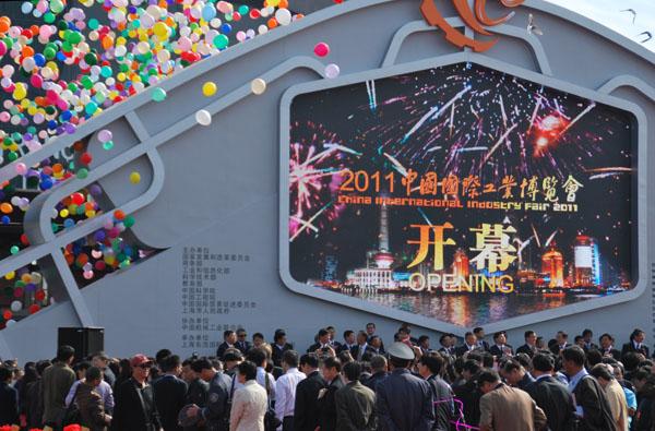 2011上海工博会如火如荼正式开幕