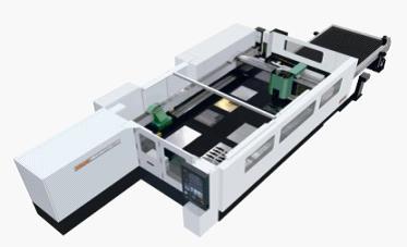 五轴全磁浮激光切割机