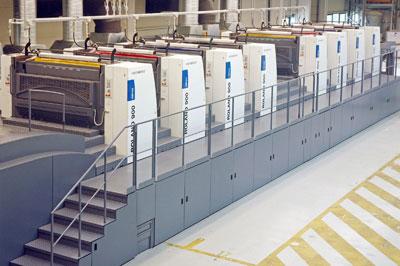 曼罗兰首台双面印刷机在德正式投产