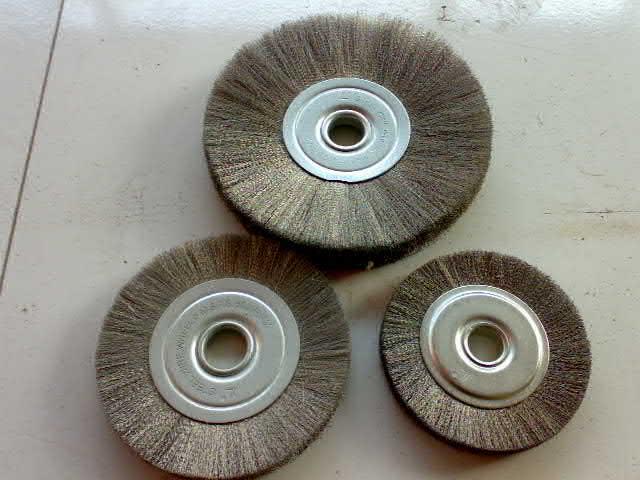 钢丝轮|杜邦丝轮|钢丝刷|铜丝轮