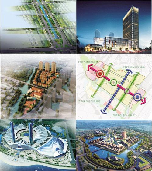 辽阳太子岛小镇规划图