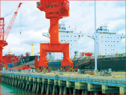福建规模以上船企前8月创工业总产值140亿元