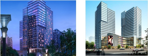 区的核心地带北城天街,与重庆富力海洋广场,富力海洋国际写字楼毗邻