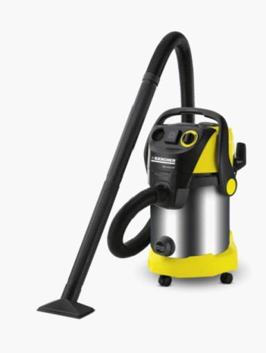 轻松处理大面积室内外清洁 金属尘桶坚固耐用