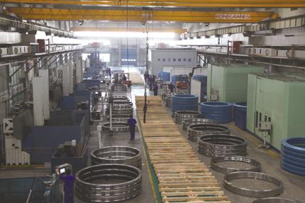 瓦轴成功研制大功率风力发电机组配套轴承
