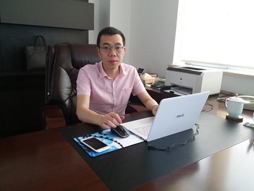 """总裁投身""""互联网+""""再创业"""