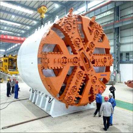 洛阳LYC公司盾构机再制造主轴承在国内率先通过专家评估