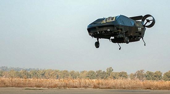 以色列公司成功测试载人飞行器