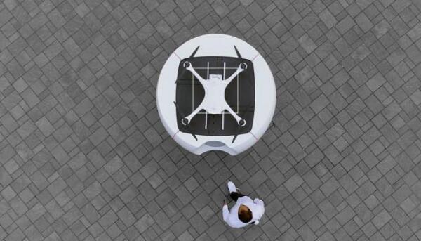 全球首个自动无人机快递网络下月在瑞士试运行