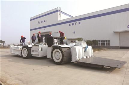 世界首款智能超大防爆铲板搬运车诞生