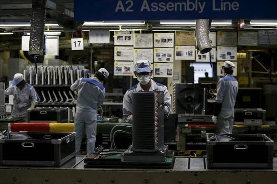 日本制造业生产效率降至1995年以来新低