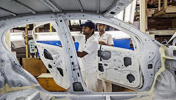 """全球制造业竞争力 排名十一的印度有望接棒中国成为""""世界工厂"""""""