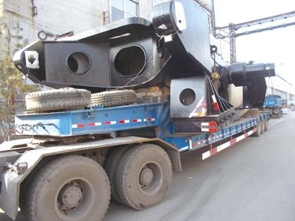 国内首台45立方米挖掘机诞生于太重