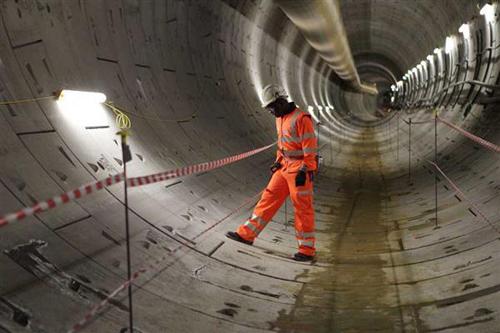 英国用3D打印建火车隧道 预计将获420亿收益