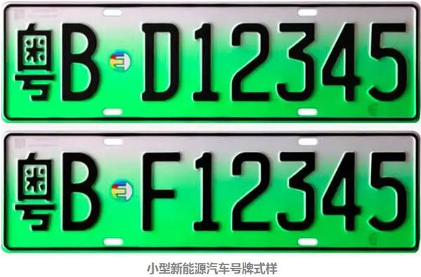 新能源车专用号牌将向全国推广