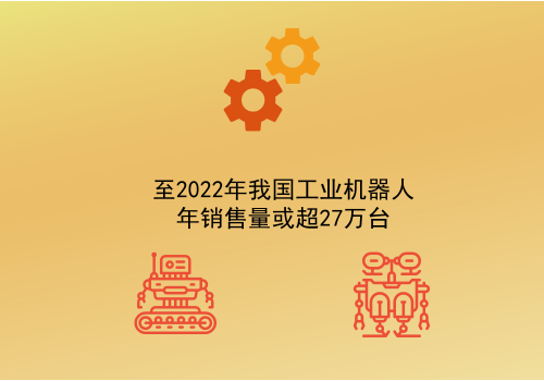至2022年我国工业机器人年销售量或超27万台