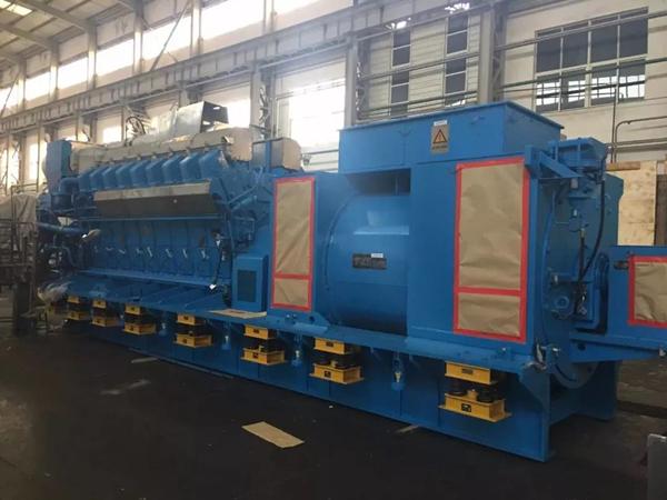 我国首次实现百万千瓦级核电应急柴油机组完全自主设计及制造