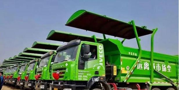上汽动力红岩自卸车驶入河南 为河南地区绿色渣运助力
