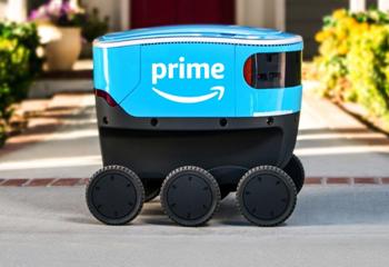 配送机器人将让快递人员失业?