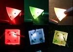单片集成LED可实现色彩的调谐