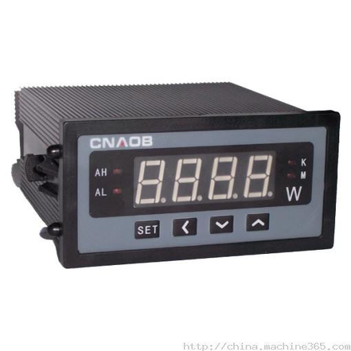 3.1 有功功率测量显示范围:0~999W~999kW~9999MW(单位通过状态指示灯自动切换) 3.1 无功功率测量显示范围:0~999var~999kvar~9999Mvar(单位通过状态指示灯自动切换) 3.2 测量准确度:0.5%FS1字(有功)、1.0%FS1字(无功) 3.3 额定输入电压:AC100V、220V、380V(互感器倍率自由设定) 3.