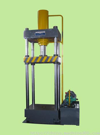 液压机械及部件-供应ys-100t四柱手动液压机-中华图片
