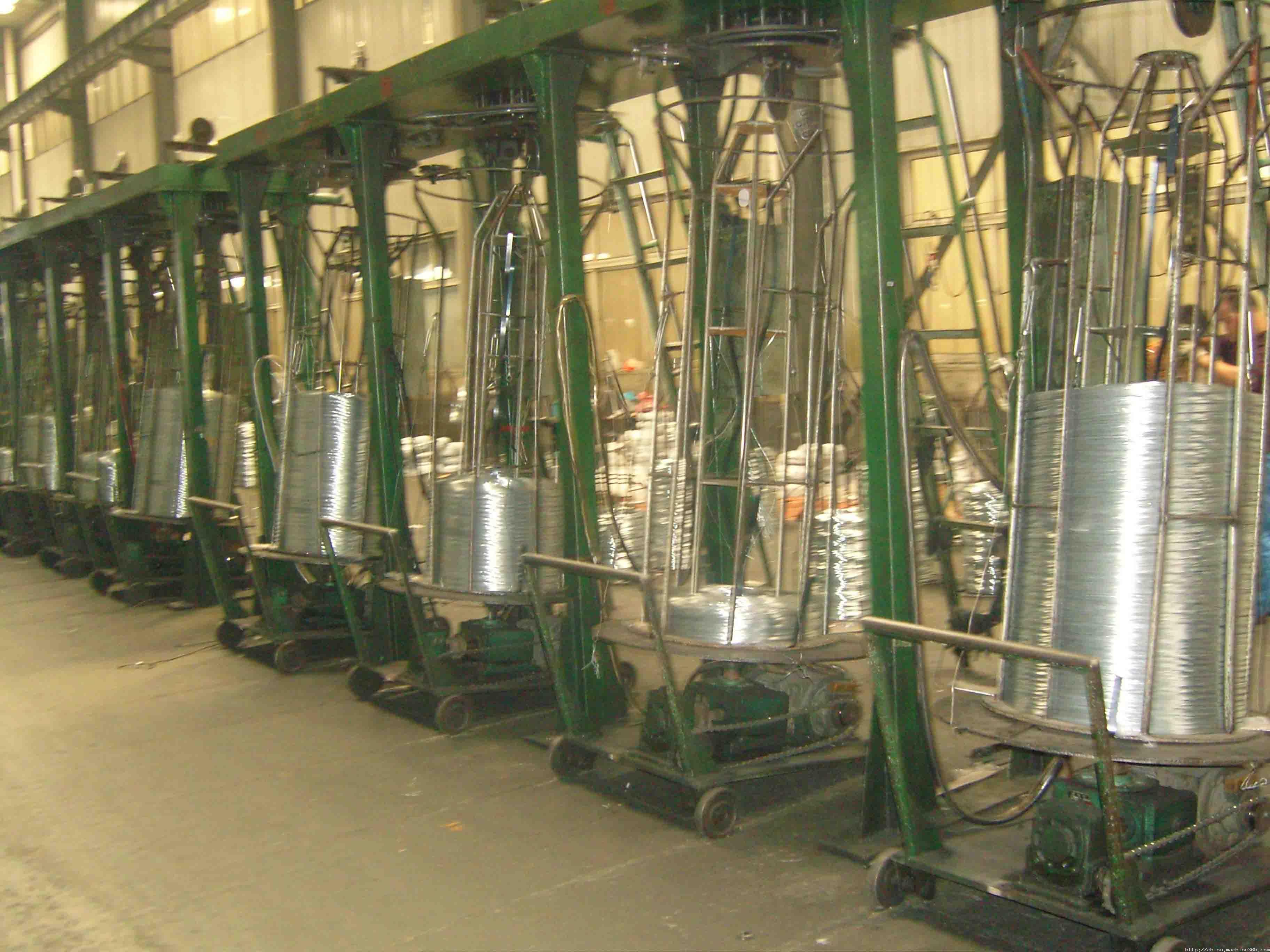 金属成型设备-供应倒立式梅花型收线机[撒线机]-中华