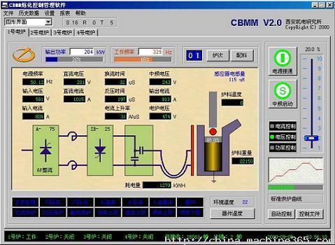工业电炉-供应感应电炉的计算机控制系统-中华机械网