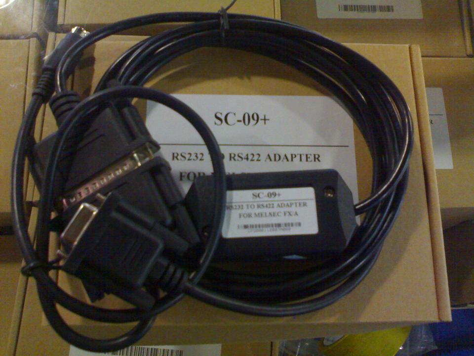 232 接口的三菱PLC编程电缆