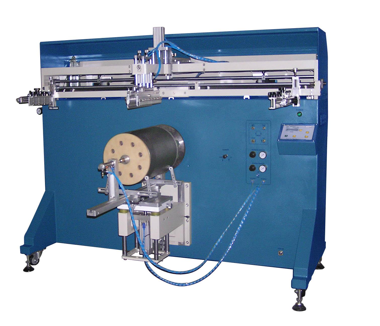 铁桶丝印机,塑料桶丝网印刷机,油漆桶丝印机