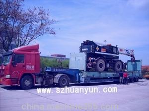超高框架柜拖车运输