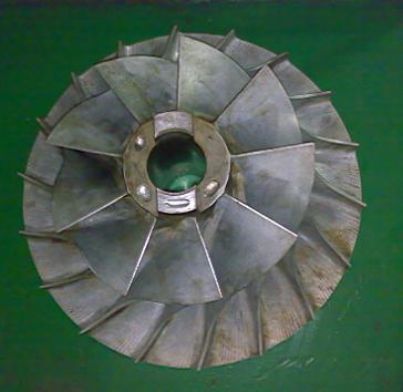 数控及cnc加工-提供加工五轴联动加工柴油机叶轮加工图片