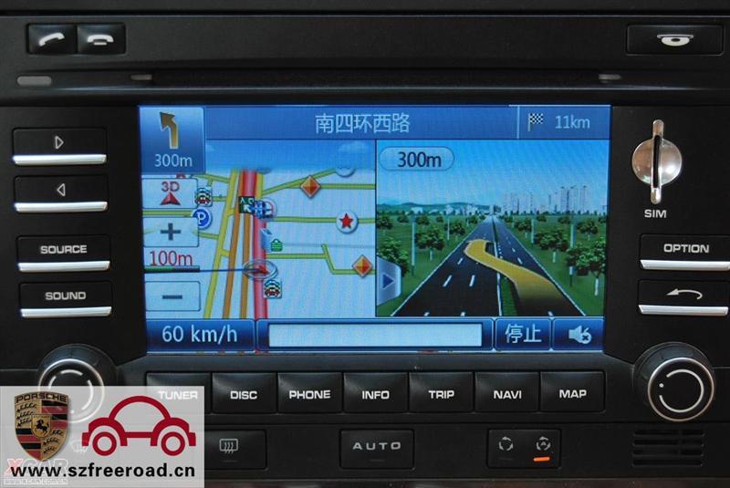 车载cd-供应保时捷卡宴升级gps导航,dvd,倒车影像