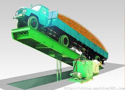 S系列液压翻板汽车衡 散料卸车装置 散粮卸车装置