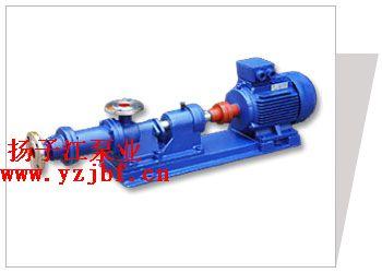 螺杆泵:I-1B型不锈钢浓浆泵