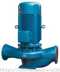 ISG型系列立式管道离心泵,浙江立式管道离心泵,江苏立式管道离