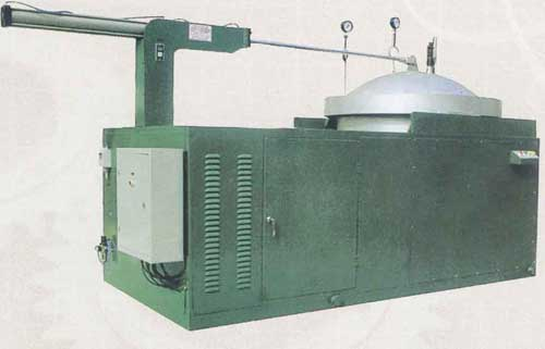 平启式电脑控制胶套硫化罐