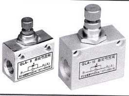 QLA系列单向节流阀,单向节流阀销售商,单向节流阀