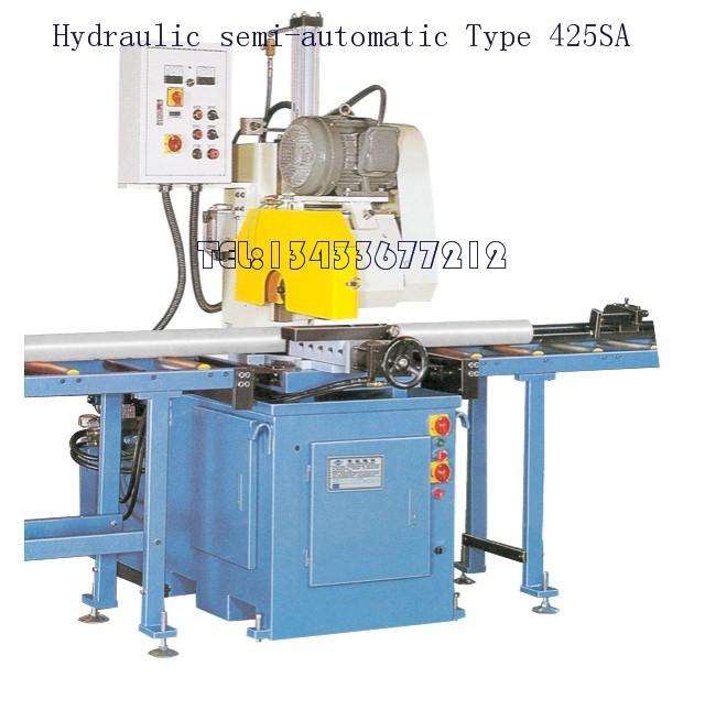 供应半自动油压金属圆锯机; 欧式精密油压切断机 425sa;      供应半