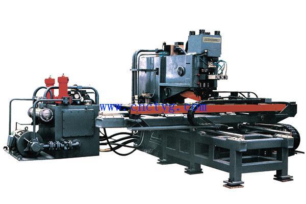 数控机床-供应bc--15a15b型数控液压冲孔机-中华机械图片