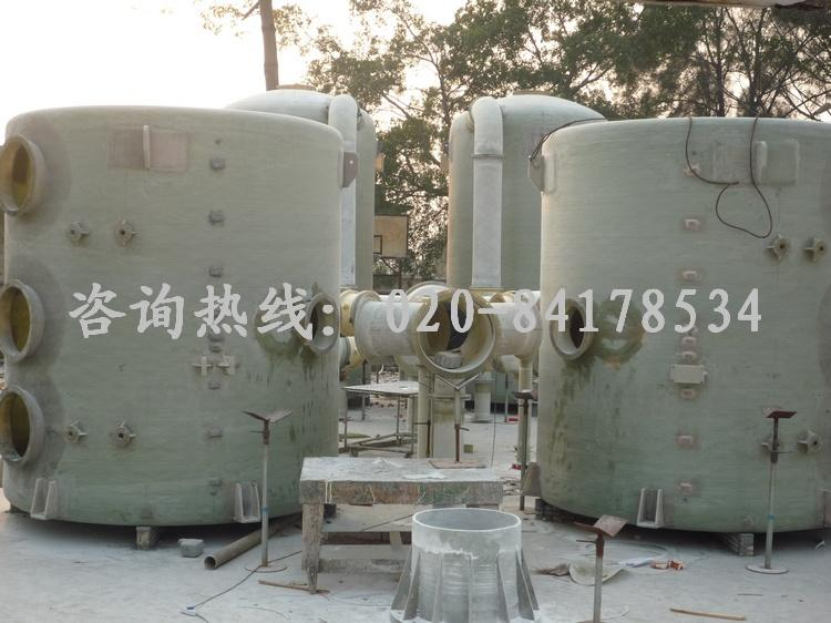 玻璃钢填料洗涤塔-广州市维博玻璃钢制品有限公司