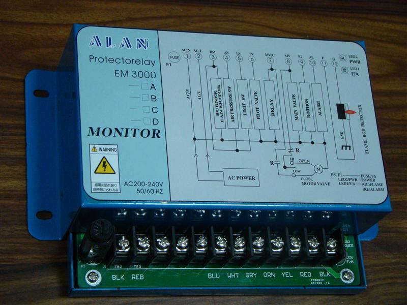 燃烧器-供应燃烧器专用程序控制器-中华机械网