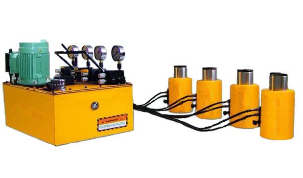 千斤顶-供应同步液压千斤顶-dyg系列-中华机械网图片