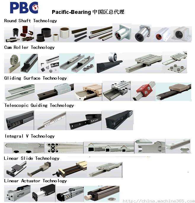 Pacific Bearing Company  -  PBC Linear 直线衬套