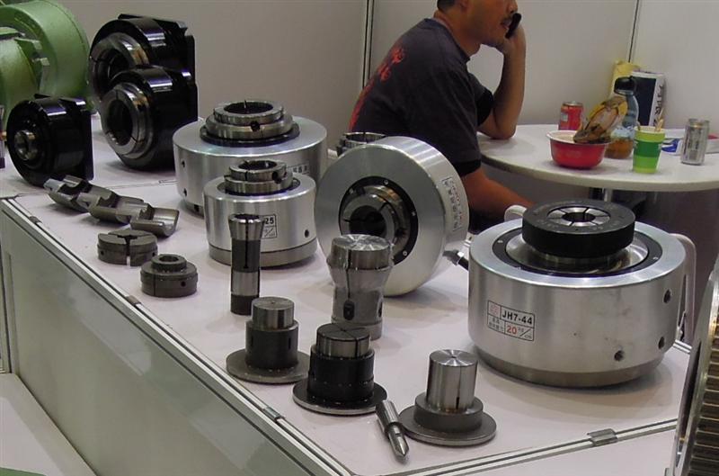 jh7-40液压回转卡盘/油压夹头图片